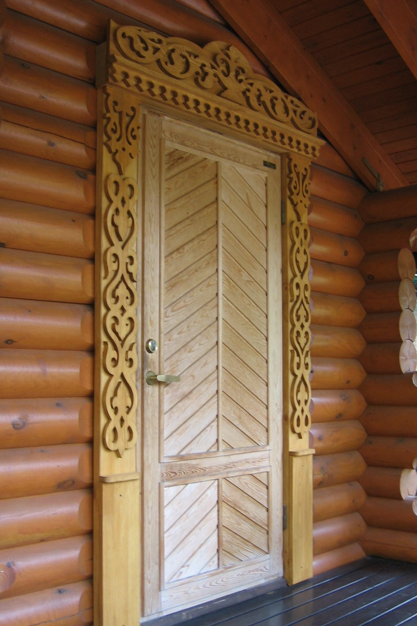 Уникальный резной наличник на деревянную дверь, орнамент дерево жизни
