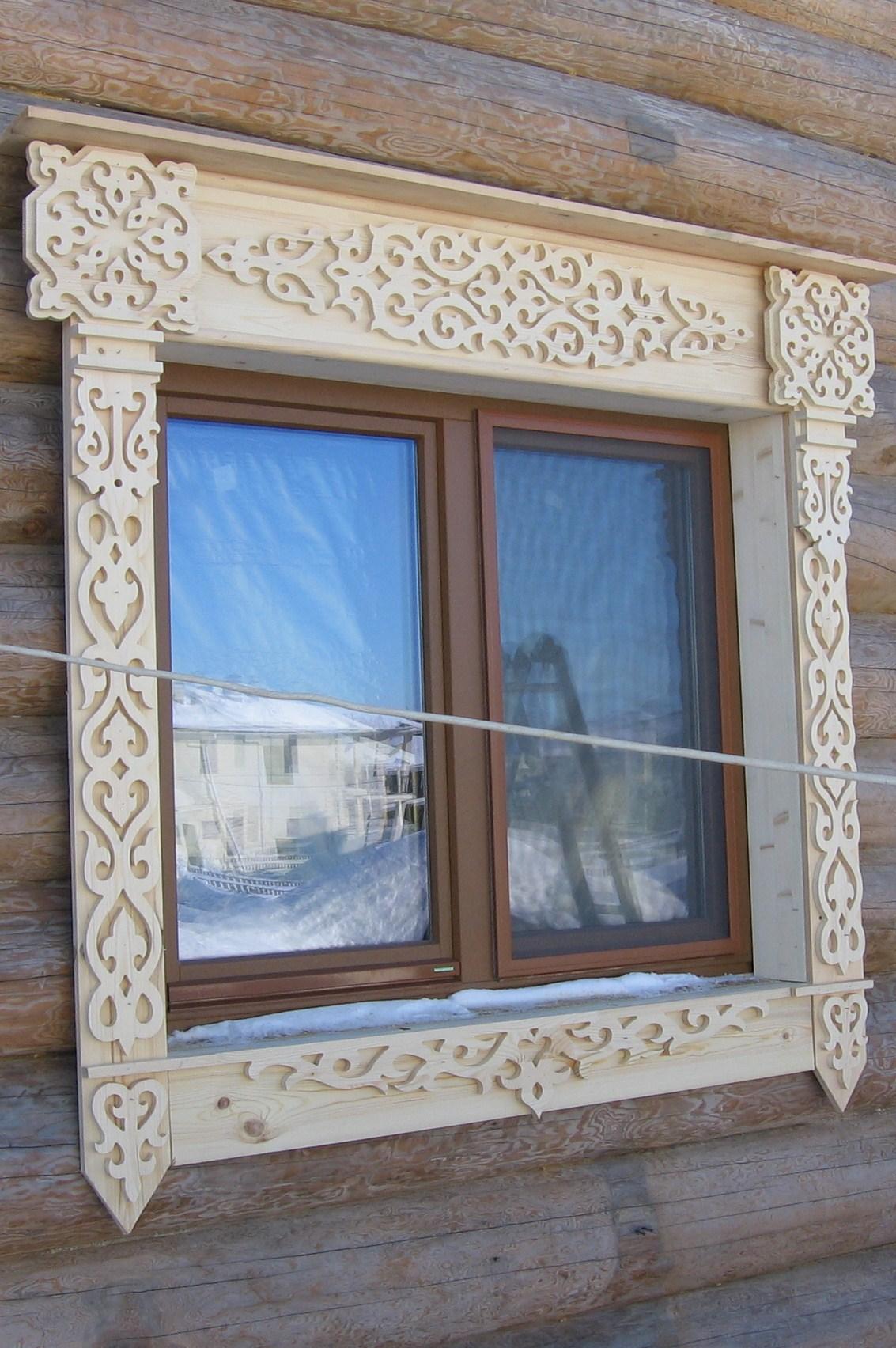 Наличники на окна своими руками деревянные, резные - Ремонт 4