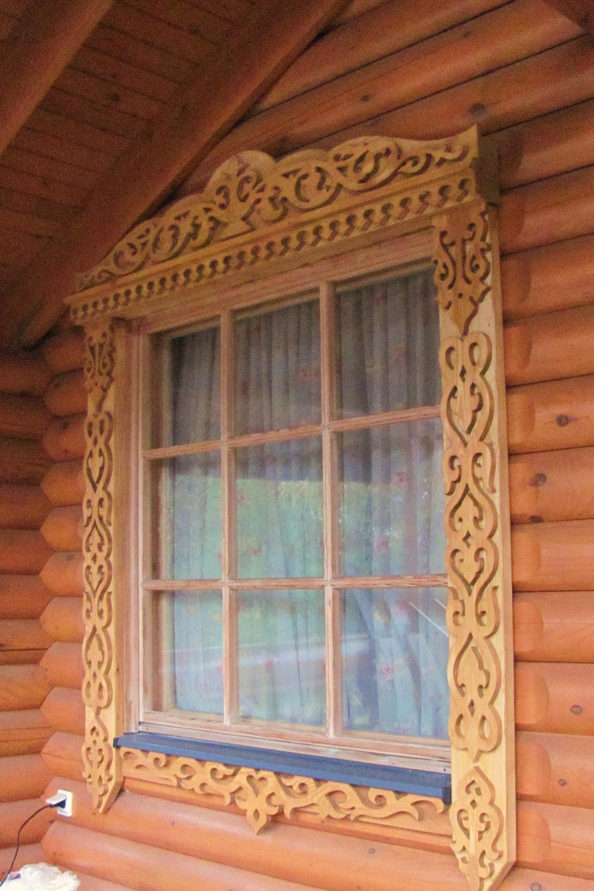 Наличники на окна своими руками - пошаговая инструкция! 71