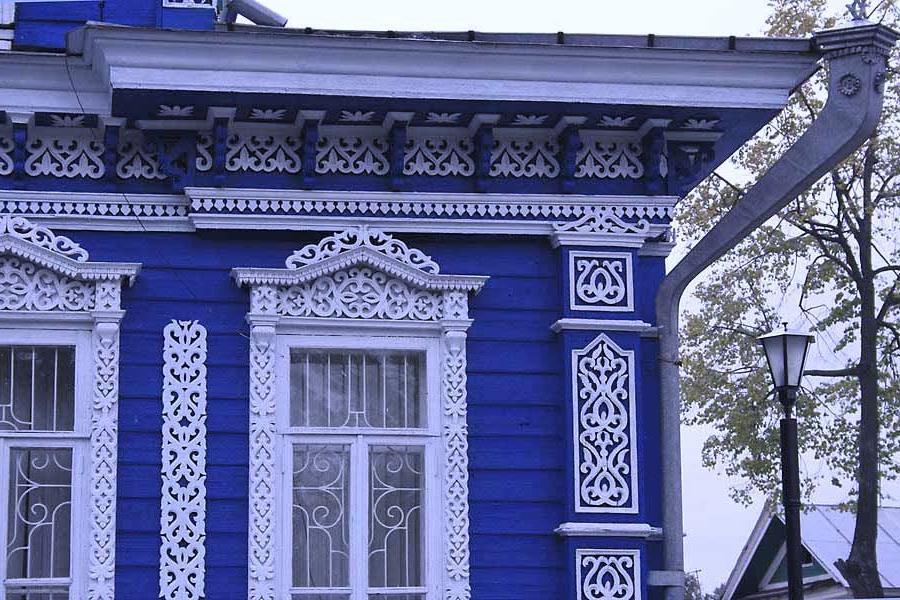 Ремонт, восстановление и реставрация деревянных фасадов..