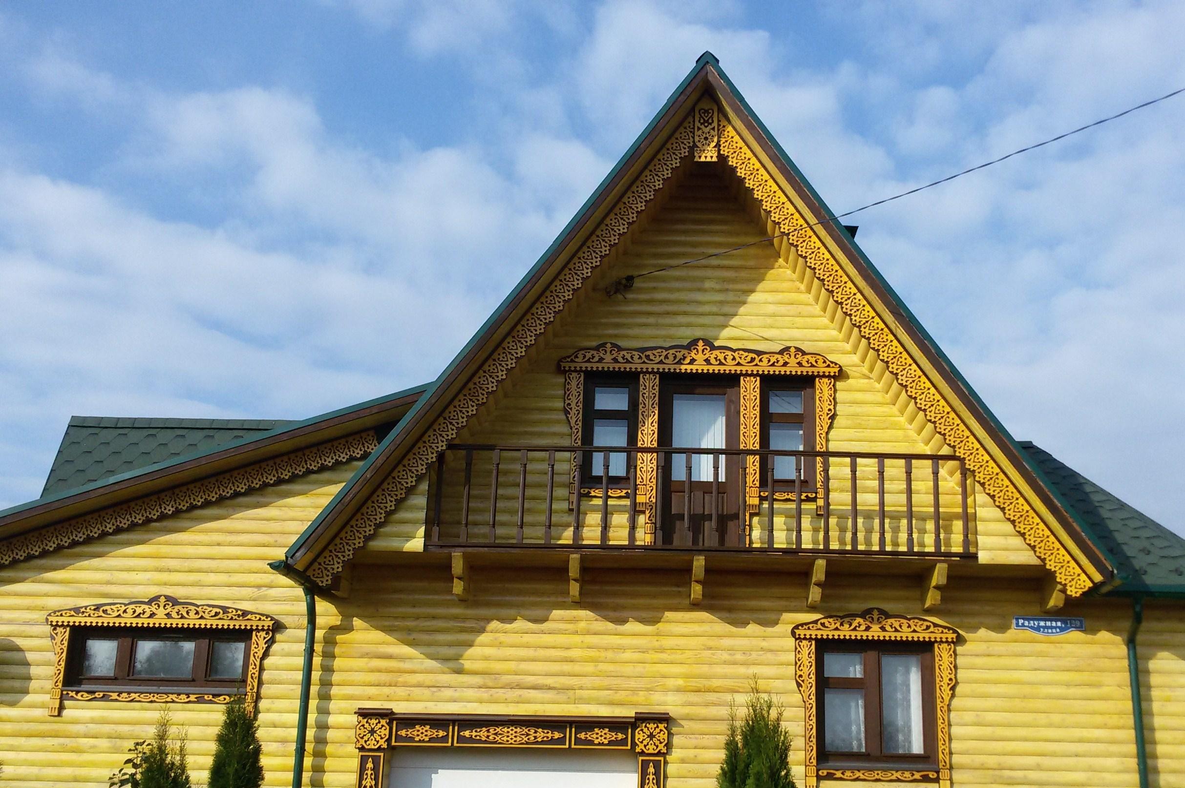 Резные фасады домов своими руками 42